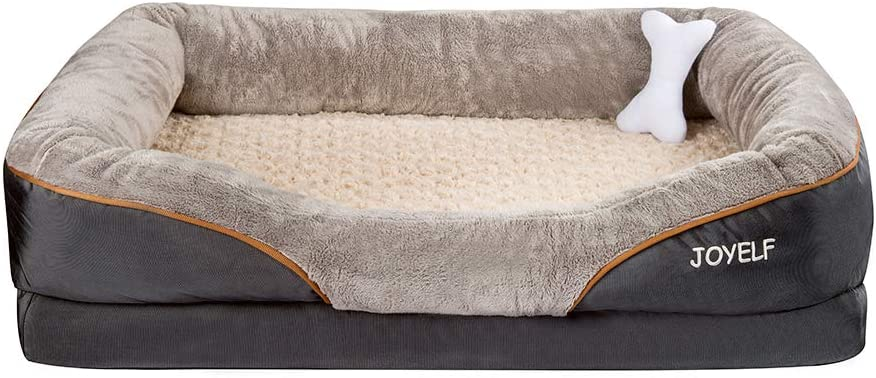JOYELF Memory Foam Dog Bed Medium Orthopedic Dog Bed & Sofa