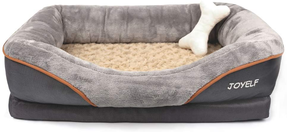 JOYELF Memory Foam Dog Bed