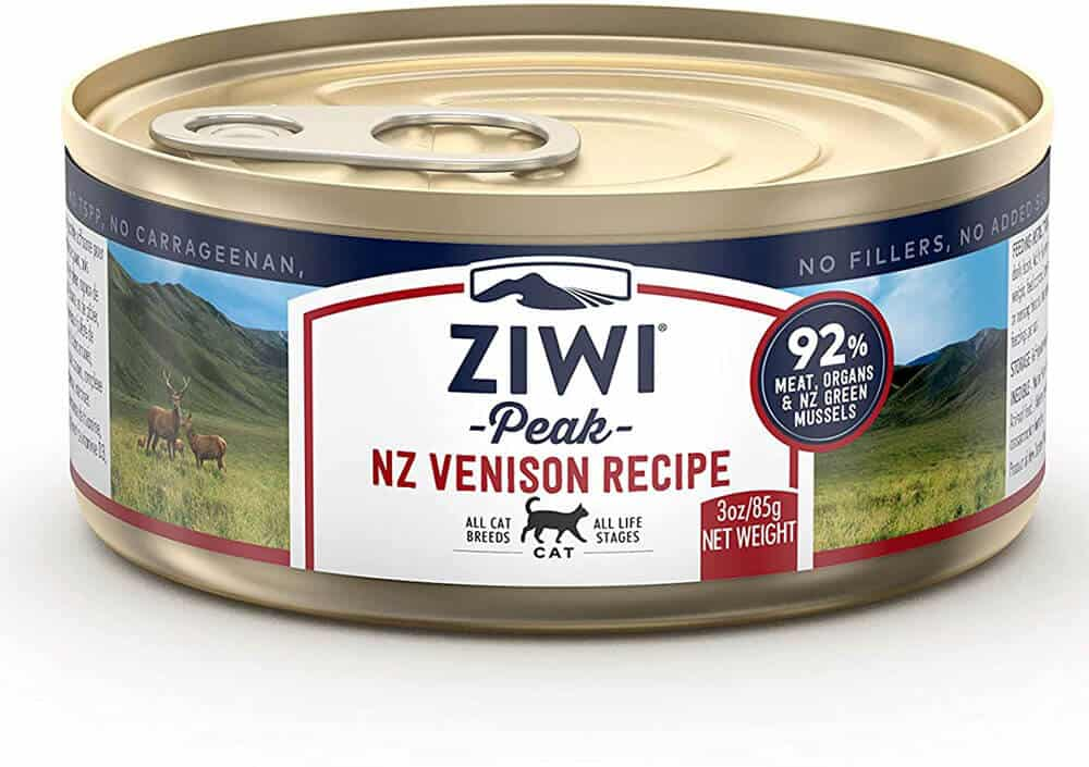 Ziwi Peak Canned Venison Recipe Cat Food