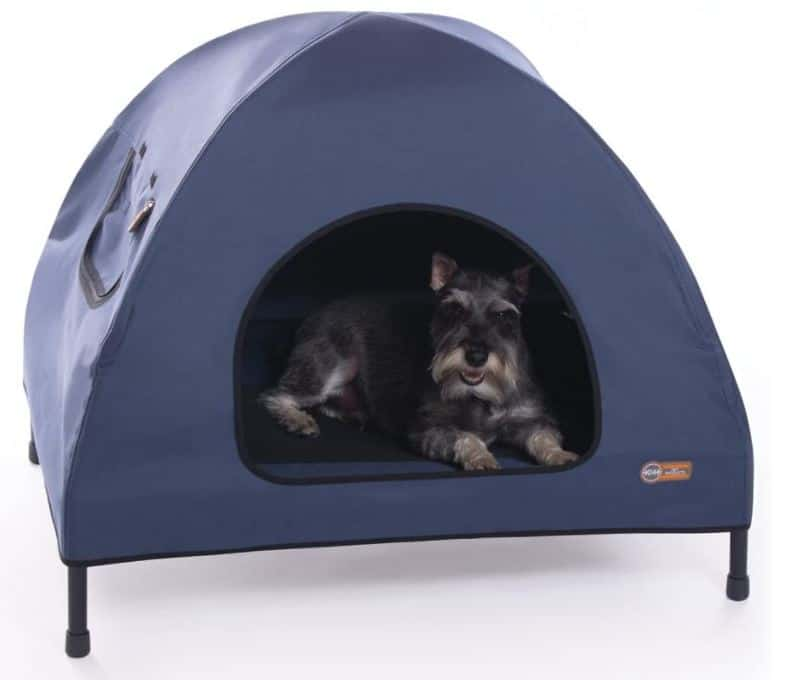 K&H Indoor & Outdoor Elevated Pet Bed & Shelter