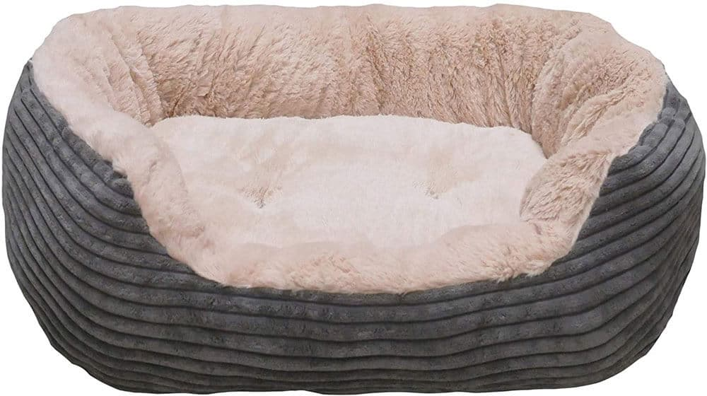 Rosewood 40 Winks Jumbo Cord Plush Dog Bed