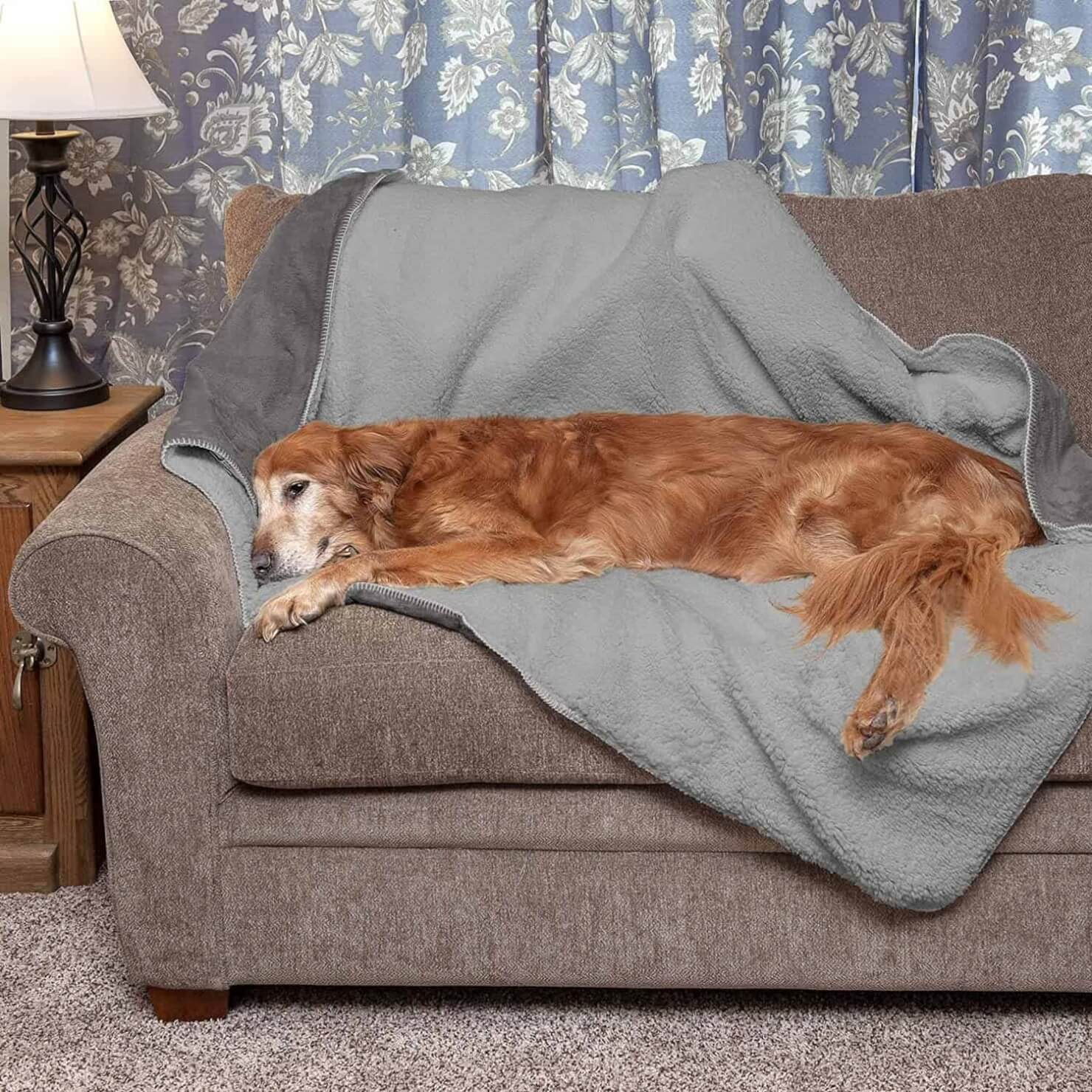 Furhaven Pet Dog Bed Blanket