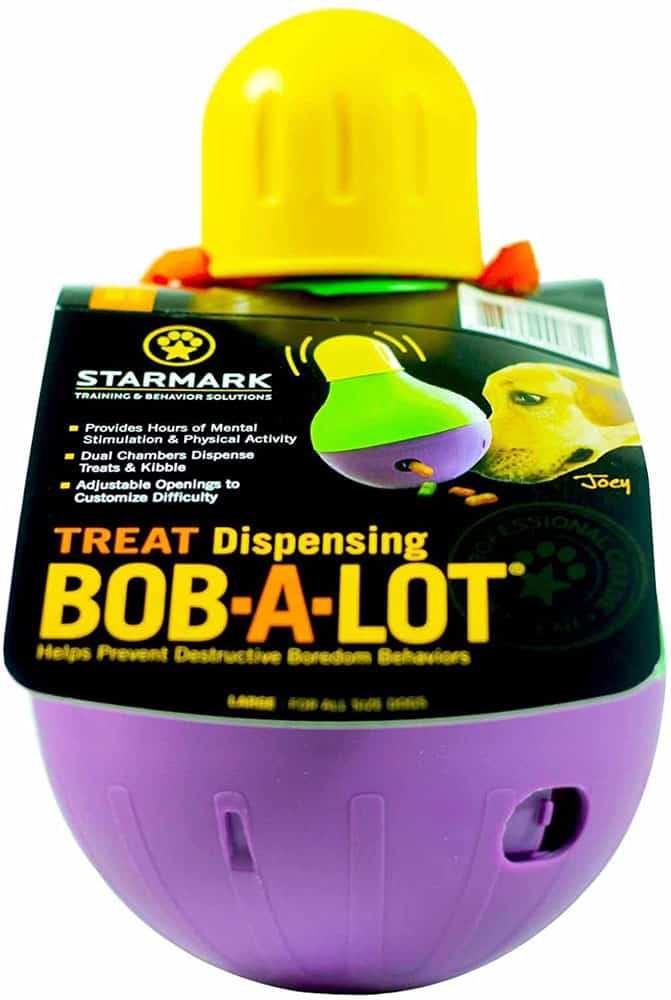 StarMark Bob-A-Lot Interactive Pet Toy