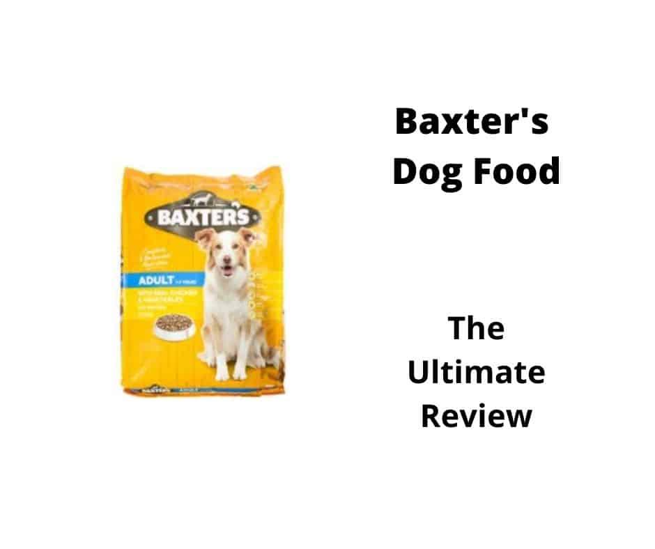 Baxter's Dog Food