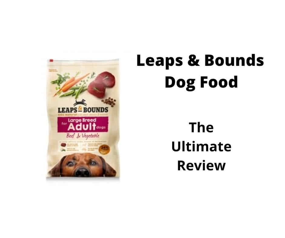 leaps & bounds dog food