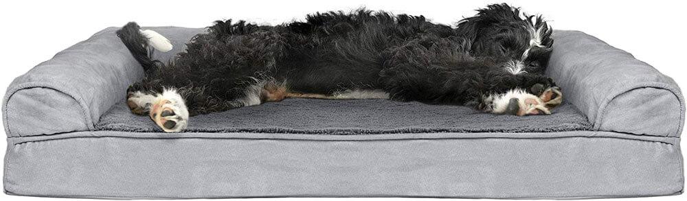 FurHaven Cooling Gel Memory Foam Dog Bed